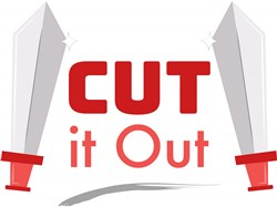 Cut It Out print art