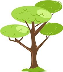 Tree print art