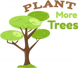 Plant More Trees print art