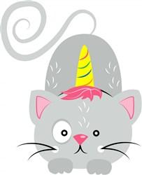 Unicorn Cat   print art