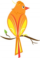 Yellow Bird print art