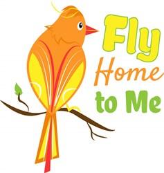 Fly Home print art