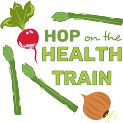 Health Train print art
