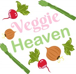 Veggie Heaven print art