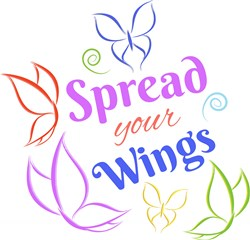 Spread Your Wings print art
