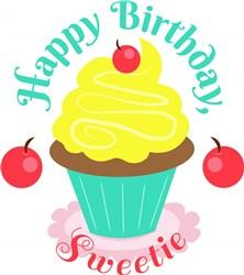 Happy Birthday Sweetie print art
