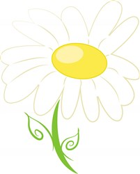 Daisy Flower print art