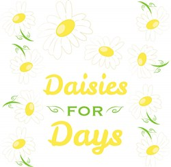 Daisies For Days print art