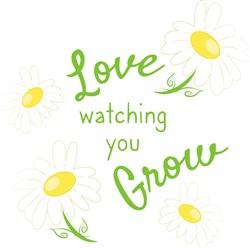 Watching You Grow print art