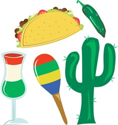 Cinco De Mayo print art