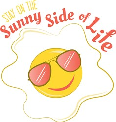 Egg Stay On The Sunny Side Of Life print art