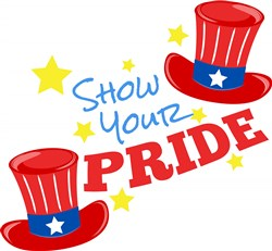 Fourth Hat Show Your Pride print art