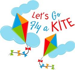 Kite Let s Go Fly A Kite print art