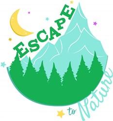 Mountains Escape To Nature print art