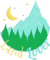 Mountains Land Lover print art