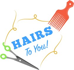 Stylist Hairs To You print art