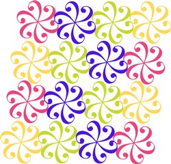 Swirl Pattern print art