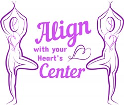 Tree Pose Align With Your Heart s Center print art