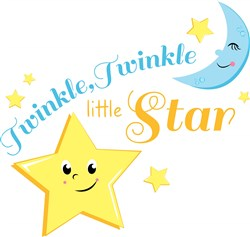 Twinkle Twinkle Twinkle Little Star print art