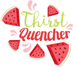 Watermelon Thirst Quencher print art