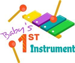 Xylophone Baby s 1st Instrument print art