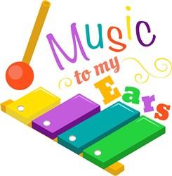 Xylophone Music To My Ears print art