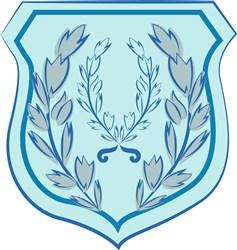 Blue Crest Base print art