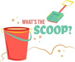 Bucket Shovel What s The Scoop print art