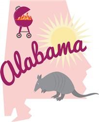 Alabama Alabama print art