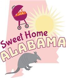 Alabama Sweet Home Alabama print art