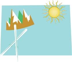 Colorado Base print art