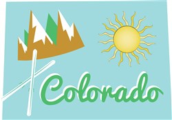 Colorado Colorado print art