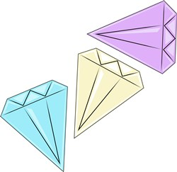 Diamonds Base print art