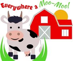 Farm Everywhere A Moo Moo print art