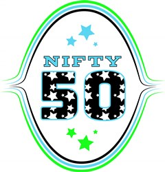 Fifty Nifty Fifty print art