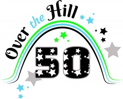Fifty Over The Hill print art