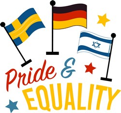 Flags Pride And Equality print art