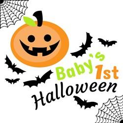 Halloween Baby s 1st Halloween print art