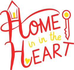 Home Home Is In The Heart print art
