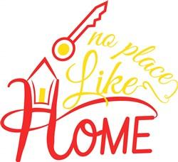 Home No Place Like Home print art