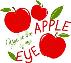 Apple You re The Apple Of My Eye print art