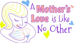 Mom A Mother s Love Is Like No Other print art
