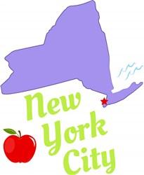 New York New York City print art