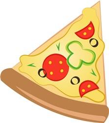 Pizza print art