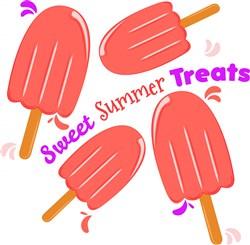 Popsicle Sweet Summer Treats print art
