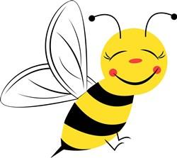 Bee Base print art