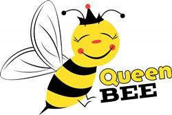 Bee Queen Bee print art