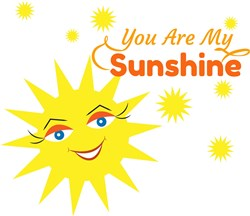 Sun You Are My Sunshine print art