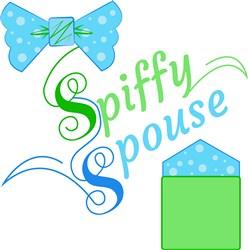 Tie&Square Spiffy Spouse print art