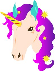 Unicorn print art